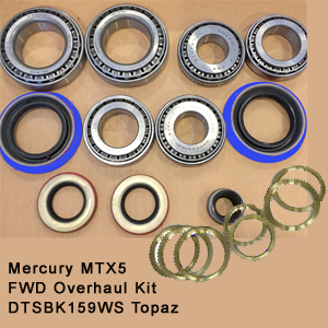 Mercury MTX5 FWD Overhaul Kit DTSBK159WS Topaz8