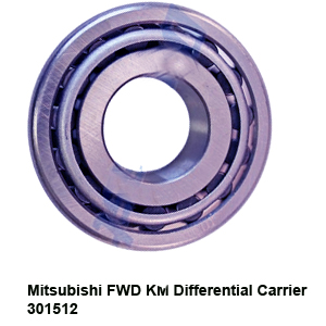 Mitsubishi FWD KM Differential Carrier 301512