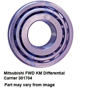 Mitsubishi FWD KM Differential Carrier 301704
