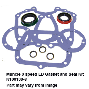 Muncie 3 speed LD Gasket and Seal Kit K100139-83