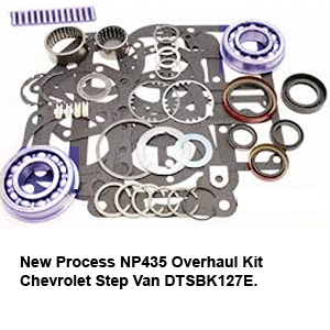New Process NP435 Overhaul Kit Chevrolet Step Van DTSBK127E