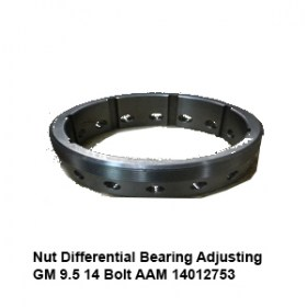 Nut Differential Bearing Adjusting  GM 9.5 14 Bolt AAM 14012753