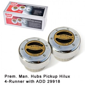 Prem. Man. Hubs Pickup Hilux 4-Runner with ADD 29918