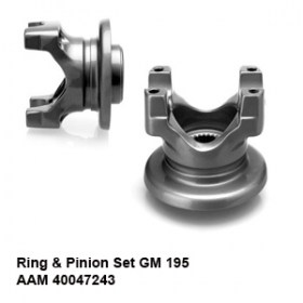 Ring _ Pinion Set GM 195 AAM 400472432