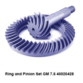 Ring and Pinion Set GM 7.6 400204287