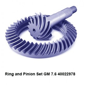 Ring and Pinion Set GM 7.6 400229784