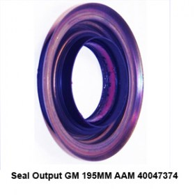 Seal Output GM 195MM AAM 400473741