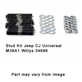 Stud Kit Jeep CJ Universal M38A1 Willys 34696