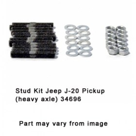 Stud Kit Jeep J-20 Pickup (heavy axle) 34696