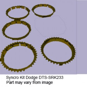 Syncro Kit Dodge DTS-SRK233