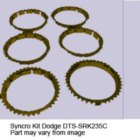 Syncro Kit Dodge DTS-SRK235C7