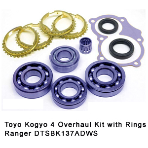 Toyo Kogyo 4 Overhaul Kit with Rings Ranger DTSBK137ADWS