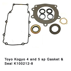Toyo Kogyo 4 and 5 sp Gasket & Seal K100212-8