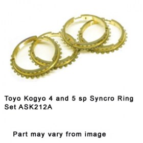 Toyo Kogyo 4 and 5 sp Syncro Ring Set ASK212A