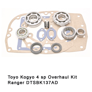 Toyo Kogyo 4 sp Overhaul Kit Ranger DTSBK137AD