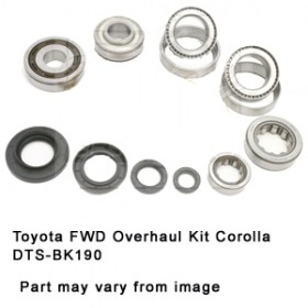 Toyota FWD Overhaul Kit Corolla DTS-BK190