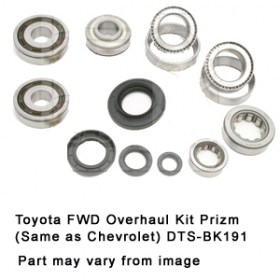 Toyota FWD Overhaul Kit Prizm (Same as Chevrolet) DTS-BK191