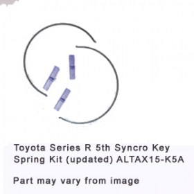 Toyota Series R 5th Syncro Key-Spring Kit (updated) ALTAX15-K5A
