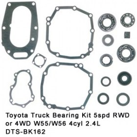 Toyota Truck Bearing Kit 5spd RWD or 4WD W55-W56 4cyl 2.4L DTS-BK162