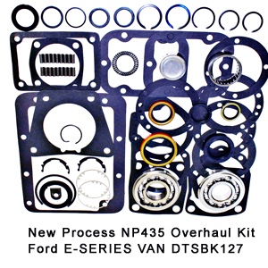 New Process NP435 Overhaul Kit Ford E-SERIES VAN DTSBK127